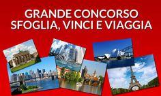 Concorso Panorama con in palio vouchers da € 3.000 da spendere in biglietti aerei