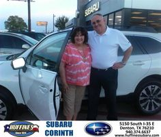 https://flic.kr/p/MGdY45 | #HappyAnniversary to Roger And Cheryl and your 2016 #Subaru #Outback from Bill Klozik at Huffines Subaru Corinth! | www.deliverymaxx.com/DealerReviews.aspx?DealerCode=XDJB
