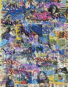 Graffiti art, which emerged in New York in the 1970s, became associated with the explosion of hip hop culture in the 1980s.