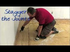 "#VIDEO:  How to Install ""Loose Lay"" Vinyl Plank Flooring"