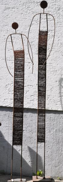 Draht - Kunstobjekte Helga Backus                                                                                                                                                                                 Mehr