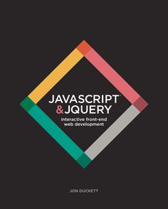 Cover of new JavaScript and jQuery book - I got mine today! Covers basics in a way that make them very easy to understand! Can't put it down!