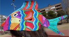 Sombrero de pez para el Carnaval - http://www.manualidadeson.com/sombrero-de-pez-para-el-carnaval.html