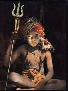 Boy Sadhu, India