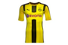 Puma Borussia Dortmund 16/17 Players Home Authentic Loyally support BVB throughout the entire 2016/2017 Bundesliga season both on and off the pitch with the new Borussia Dortmund 16/17 Players Home Authentic Football Shirt, made by Puma.This official B http://www.MightGet.com/february-2017-2/puma-borussia-dortmund-16-17-players-home-authentic.asp