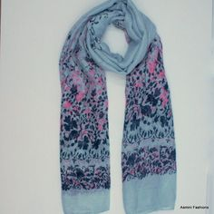 Tower Gray Clover Scarf