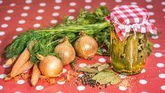 Maďarská čalamáda - Proženy Aioli, Korn, Potato Salad, Tapas, Potatoes, Table Decorations, Canning, Vegetables, Ethnic Recipes