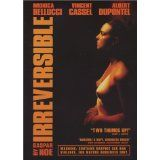 Irreversible on DVD from Lions Gate Films. Staring Monica Bellucci, Albert Dupontel and Vincent Cassel. More International, European and Cult Film / TV DVDs available @ DVD Empire. Monica Bellucci Vincent Cassel, Monica Belluci, Cinema Posters, Movie Posters, French Films, Entertainment Weekly, Great Movies, Awesome Movies, Film Movie