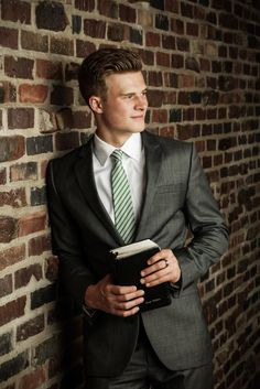 LDS Missionary photo session. We love photographing your Mormon Missionary so…