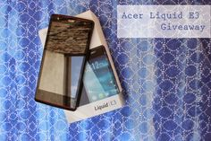 Tigerlilly Quinn: Acer Liquid E3 Giveaway