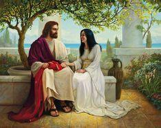 Images Du Christ, Images Bible, Pictures Of Jesus Christ, Jesus Pics, Greg Olsen Art, Image Jesus, Mormon Temples, Lds Art, Bible Art