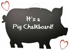 It's a chalkboard that is shaped in form of a pig!  http://karmakiss.net/en/home-room-and-garden-decor/room-accoutrements/pig-chalkboard.html