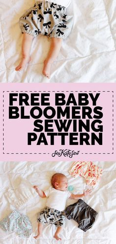 Baby Bloomers Sewing Pattern Baby Bloomers, Baby Bloomers Pattern, Free Baby Bloomers Pattern, Sewing Patterns For Babies, Free Sewing Pattern For Babies See Kate Sew Via Seekatesew Sewing Patterns Girls, Free Baby Patterns, Free Pattern, Pattern Sewing, Pants Pattern, Dress Patterns, Baby Clothes Quilt, Sewing Baby Clothes, Baby Clothes Patterns
