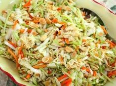 Oriental Salad with Ramen Noodles #justapinchrecipes