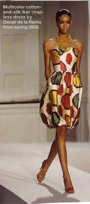 Love this Oscar de la Renta dress!