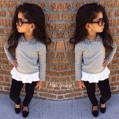 nice Little girl fashion...