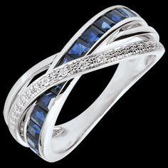 <a href=http://www.edenly.com/bijoux/bague-anneaux-saphirs-bleus-diamants,2872.html>Bague Petite Saturne variation 1 - or blanc, saphirs et diamants - 18 carats <br><span class='prixf'>640 €</span> (-45%) </a>