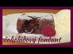 Čokoládový fondant - YouTube Fondant, Ice Cream, Pudding, Youtube, Food, Recipe, Simple, No Churn Ice Cream, Icecream Craft