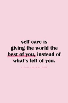 My Self Care Plan - Daily Self Care Checklist + Favorite Self Care Quotes