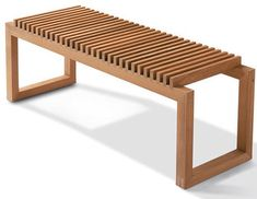 Cutter Bench - modern - outdoor stools and benches - by Danish Design Store