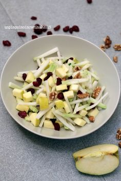 Kohlrabi Salad - Insalata di cavolo rapa