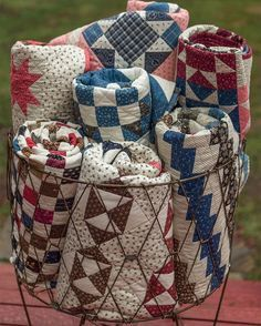 Image result for decorating with vintage quilts