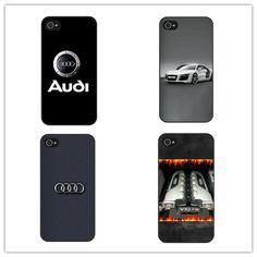 Audi Car Logo Hard Phone Case Cover For Apple  iPhone 4 4S 5 5S 5C SE 6 7 6S Plus 4.7 5.5