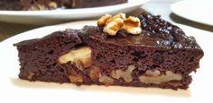 Porción de brownie saludable Diabetic Recipes, Vegan Recipes, Vegan Food, Cure Diabetes Naturally, Sweet Desserts, Sin Gluten, Healthy Desserts, Healthy Food, Deli