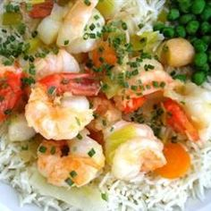 King Prawn and Scallop in Ginger Butter Allrecipes.com