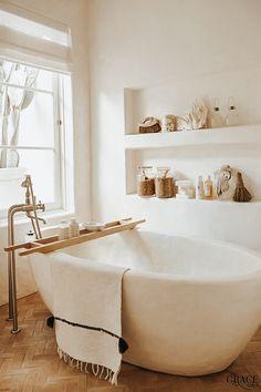 Modern bathroom design 270145677635173024 - minimalist bathroom Source by Remodelaholic Bad Inspiration, Bathroom Inspiration, Bathroom Inspo, Bathroom Ideas, Bathroom Makeovers, Interior Inspiration, Shower Ideas, Spa Inspired Bathroom, Bathtub Ideas