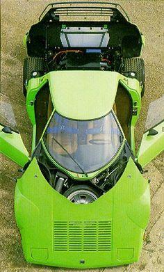 Lancia Stratos..love the color
