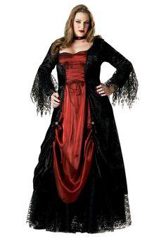 Halloween costumes for women plus sizes | Women's Plus Size Vampire Costume