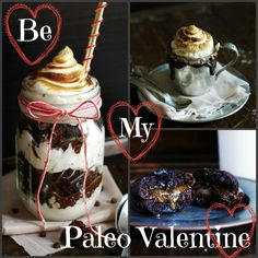 Paleo and Gluten Free Valentine's Day Recipes from SouthBeachPrimal.  #paleo #glutenfree