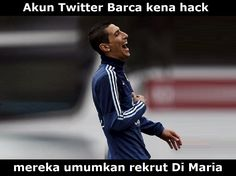 Akun Twitter Barcelona Kena Hack, Mereka Umumkan Rekrut Angel Di Maria