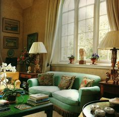 feminine english country rooms | English Country sitting room