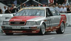 AUDI V8 quattro - DTM - Walter Röhrl [Images]