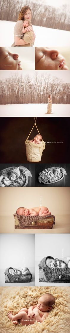 Baby as Art. Brittany Woodall photographs Shannon Dodd's newest little man in Iowa!