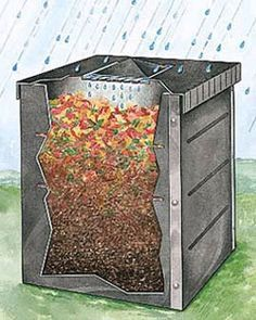 """""""All About Composting"""" article succinctly covers a surprising variety of compost recipes and compost bins, including DIY containers."""