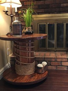 diy recycled wood cable spool furniture ideas & projects for porch decorat. diy recycled wood cable spool furniture ideas & projects for porch decorat. Diy Cable Spool Table, Cable Reel Table, Wood Spool Tables, Wooden Cable Reel, Wooden Cable Spools, Wire Spool, Cable Spool Ideas, Cable Wire, Rustic Accent Table