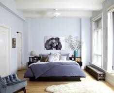 Gut Schlafzimmer Gestalten Blau Braun