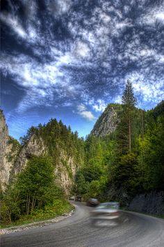 Bicaz gorge, Neamt, Romania - by Adrian Anechitoaie, via Flickr
