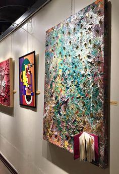 I viaggiatori di Elena Iori  #elenaiori #astrattomaterico #astratto #materico #estate #artista #premi #parma #italy #italia #pittura #arte #mostra #ucai #acrilico #galleria