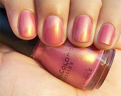 Sinful Colors Sharon's Heart....my favorite nail polish of allllll time. I wish I could find it again.