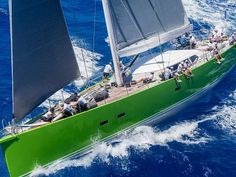 The #LoroPianaCaribbeanSuperyachtRegattaRendezvous will kick off racing tomorrow at Yacht Club Costa Smeralda - Virgin Gorda. Pictured here is the beautiful #SYInoui. www.horizonme.eu