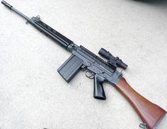 FN FAL rifle.