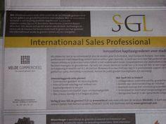 Mooi werk bij SGL via Velde Groep 13-9-2014