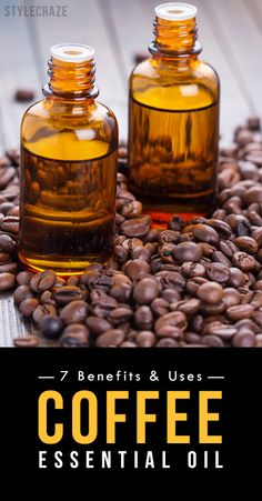 Coffee essential oil, apart from having an invigorating aroma, also has a number of health benefits! Check out this post to know the amazing benefits and uses