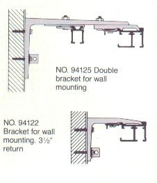 Shower Tracks And Cubicle Curtains