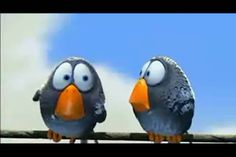 Pixar - For the Birds (animated short film)  1. prediction  2.  diversity  3.  tables are turned
