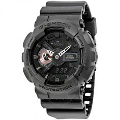 Casio G-Shock Analog-Digital Black Resin Men's Watch GA110MB-1A